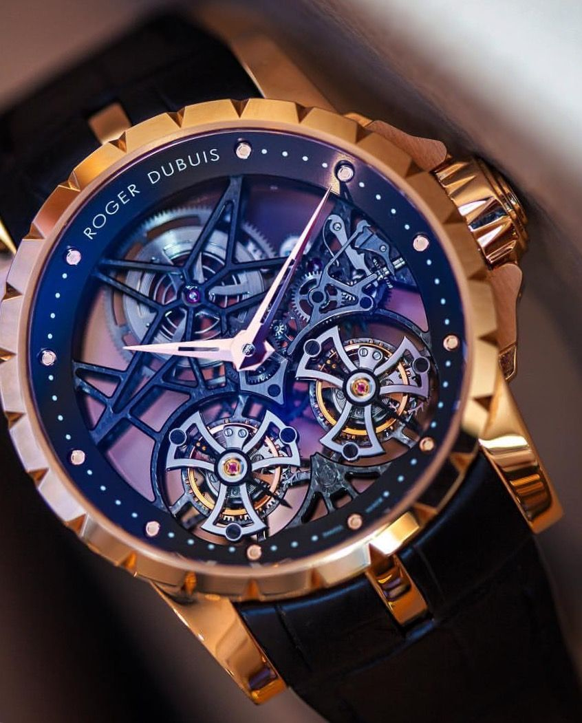 Cool watches roger dubuis double flying