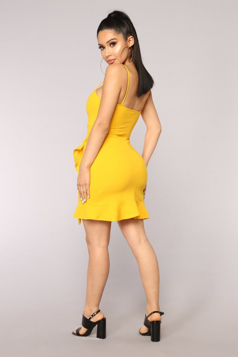 Im what you want dress yellow dresses yellow dress