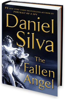 The Fallen Angel. Just finished Silva's latest, I am more