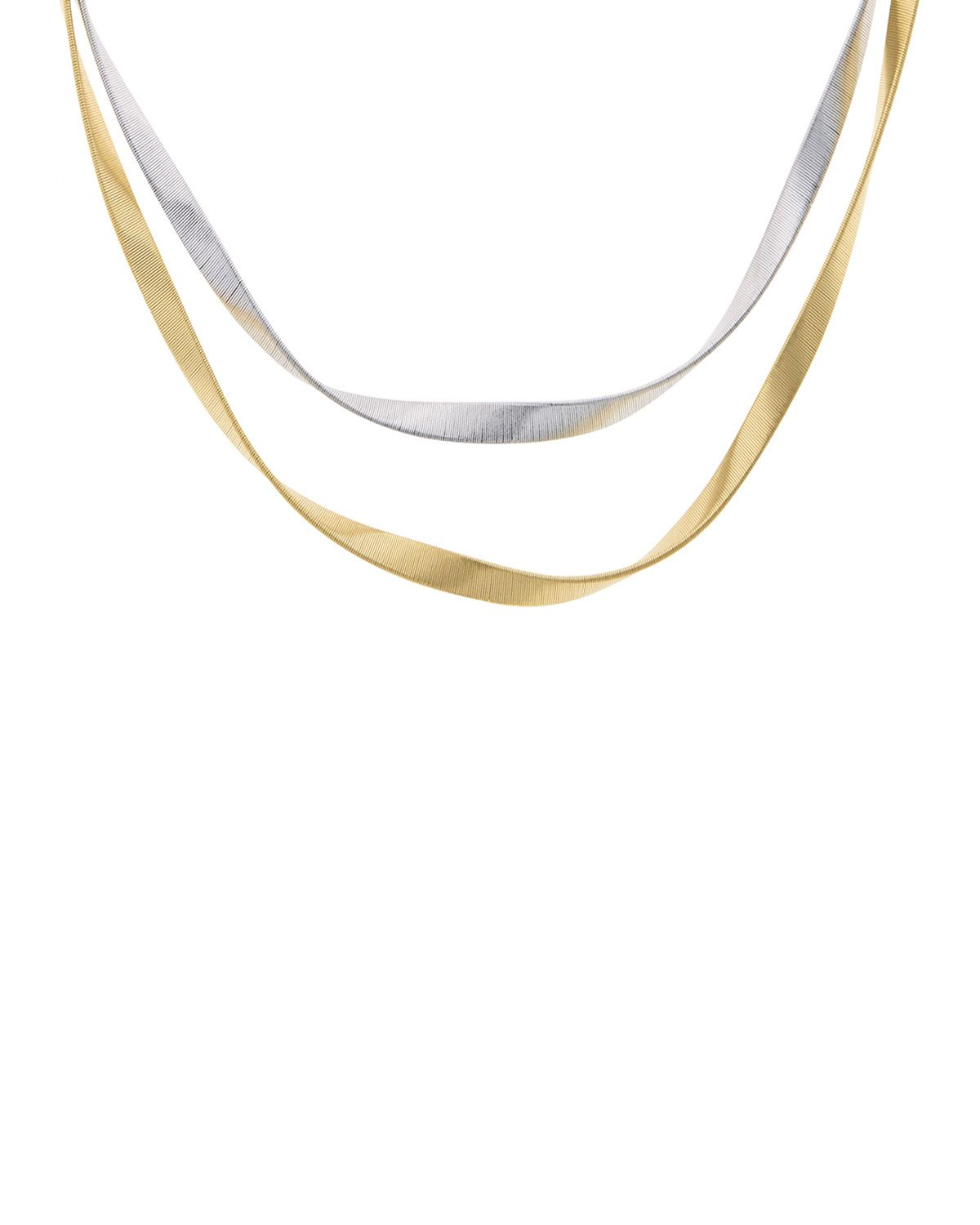 Marrakech Supreme Twisted 18K Gold Necklace - Marco Bicego | *Neiman ...