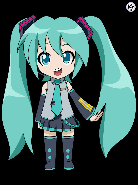 Resultado de imagen para hatsune miku chibi kawaii Miku