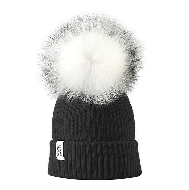 788b60f7437 Lux Watermelon Fur Pom Beanie (£37) ❤ liked on Polyvore featuring  accessories