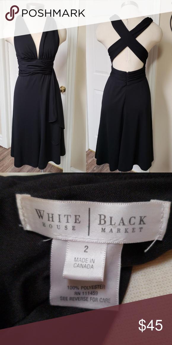 White House Black Market Little Black Dress White House Black Market