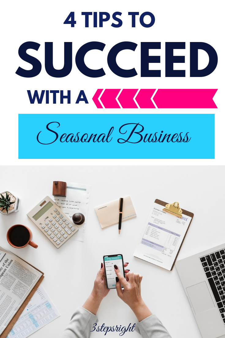 4 Tips To Succeed With A Seasonal Business Online Jobs For Moms Best Money Saving Tips Make Money Blogging