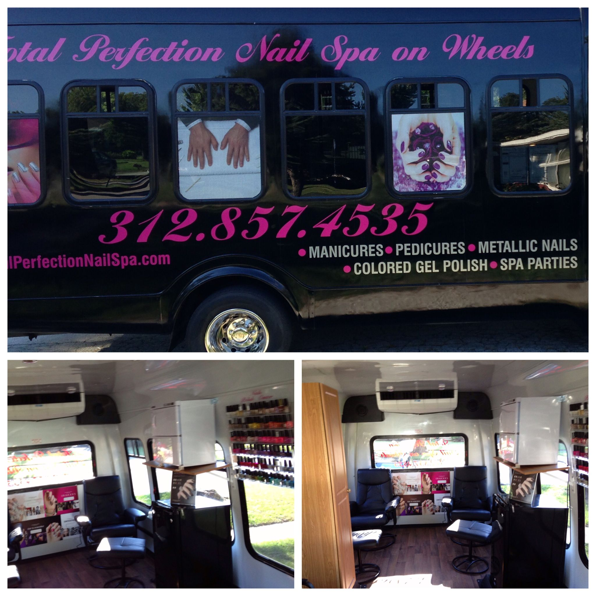 Chicago's first mobile nail salon. Mobile nails