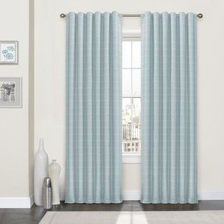 Eclipse Lindstrom Blackout Curtain Panel 80 X 63 63 Inches Spa Green Polyester Solid Curtains Panel Curtains Insulated Curtains