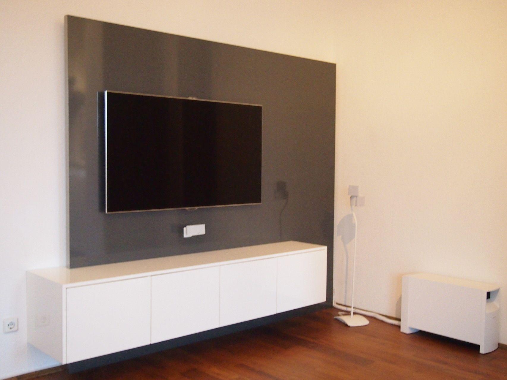 kabelkanal wand tv Referenzen - TV WALL TV Wand | Fernsehwand aus Schreinerhand Tv Kabelkanal,  Wohnzimmer Tv,
