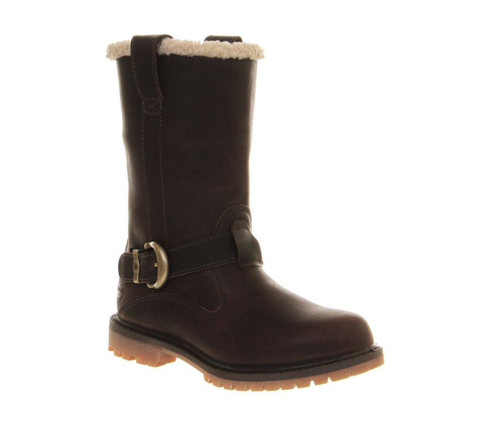 Timberland Nellie Pull On Womens Knee Boots Black
