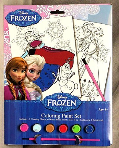 Disney FROZEN Free Printables Plus Our Picks For Great Frozen Craft Sets Birthday Party Favors Or Sleepover Fun