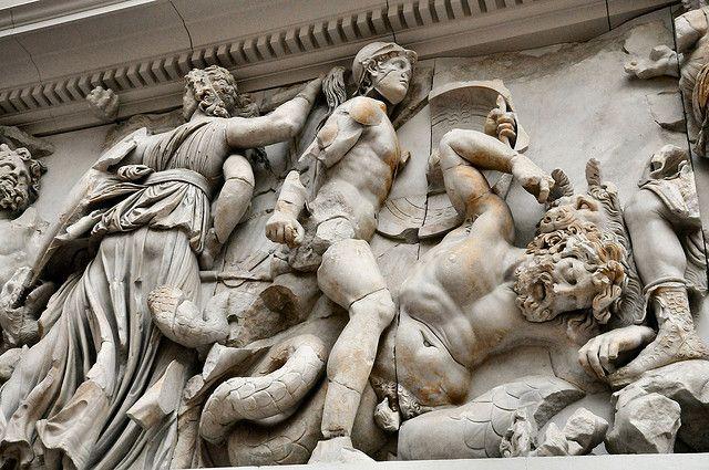 Pergamon Museum Berlin Germany Skulptura Antichnost Makedoniya
