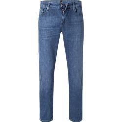 Photo of Boss jeans trousers men, stretch cotton, blue Hugo Boss