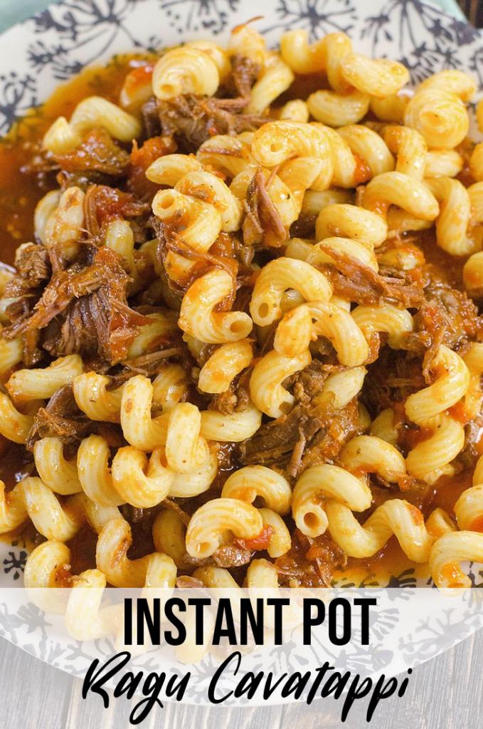 instant pot ragu cavatappi  recipe  instant pot wheat