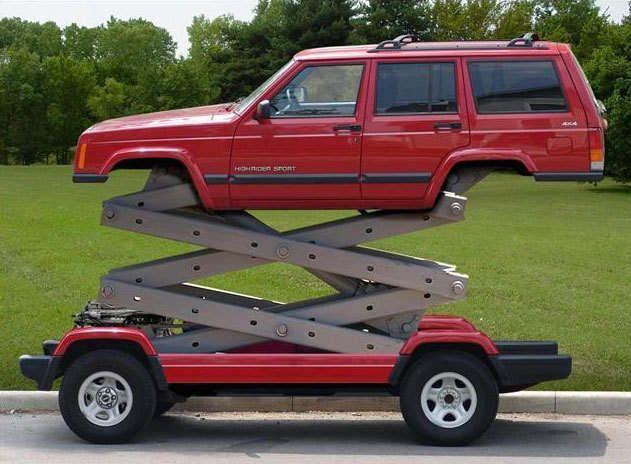 Custom Trucks Vehicle Custom Vehicle Picture Of A Lift Truck And