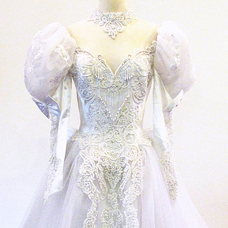 Bridal gown / Etsy Weddings / Tulle and Lace / Wedding Gown ...
