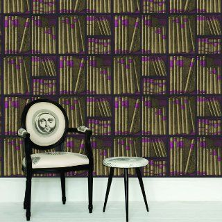 Fornasetti's Ex Libris Wallpaper for Cole and Son.