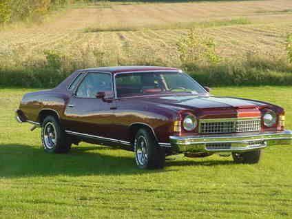 1974 Chevy Monte Carlo Classic 1974 Chevrolet Monte Carlo For