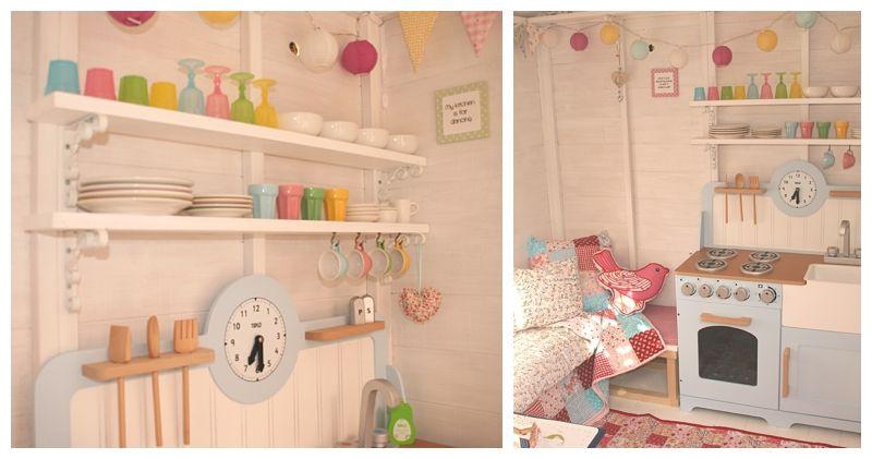 Pretty Little Playhouse Playhouse Interior Play Houses Build A