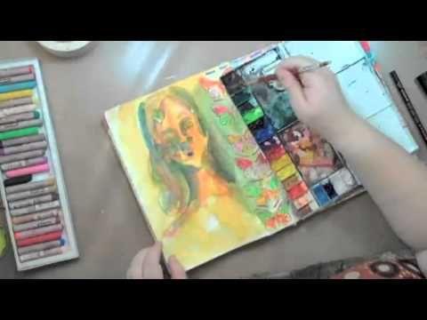 art journaling techniques...