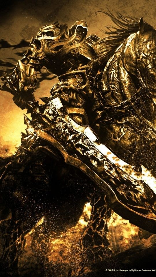 Android Htc Sensation 540x960 Darksiders Wallpapers Hd Desktop