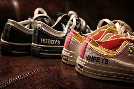 "Wedding day kicks for ""Hubby"" and ""Wifey"""
