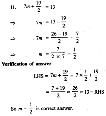 Rbse Solutions For Class 7 Maths Chapter 14 Simple Equation Ex 14 1 Rbsesolutionsforclass7mathsenglishmedium Rajasthanboardclass7mathsen Math Solutions Class