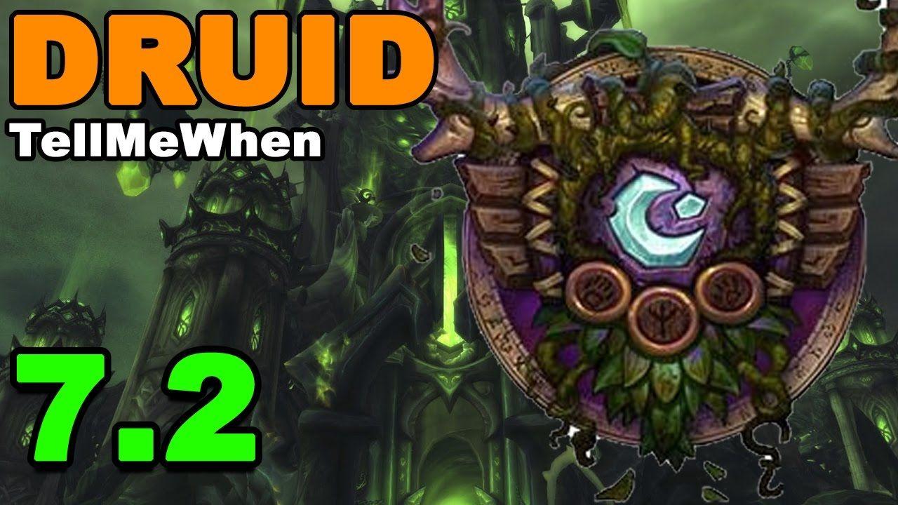 Druid TMW Profile for Patch 7 2 w/Download #worldofwarcraft