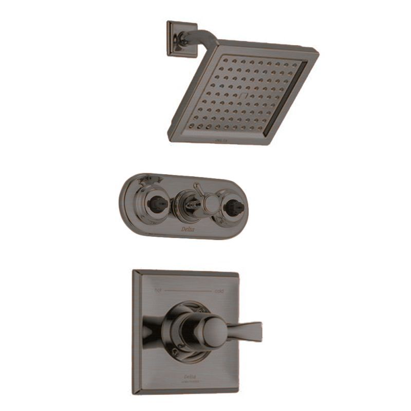 Delta Dryden Monitor 14 Series Shower Package with Shower Head and ...
