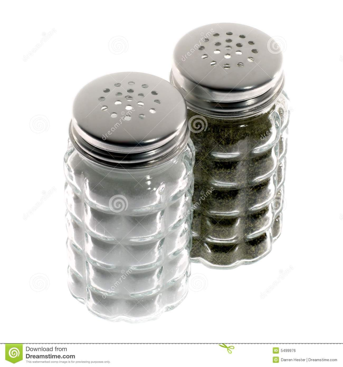 Salt And Pepper Shakers Royalty Free Stock Image 5499976