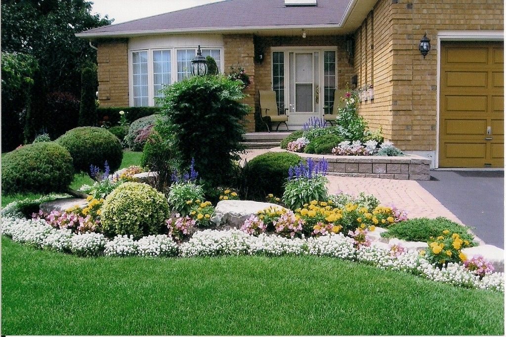 Low Maintenance Front Yard Landscaping Curb Appeal Simple