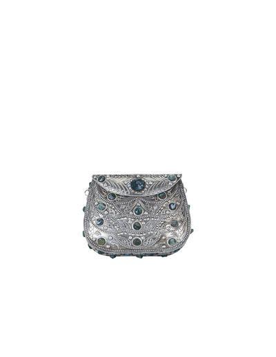 a7454b40c1f SuiteBlanco- Caja metálica piedras Es muy bonito,pero no se cuan práctico  será…sí,como arma de defensa desde luego sirve,pero un bolso de metal  totalmente? ...