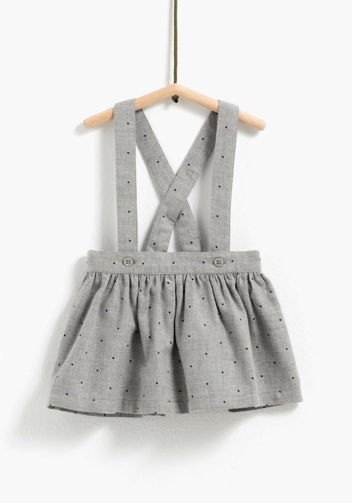 falda con tirantes | Faldas niña | Pinterest | Tirantes, Falda y ...