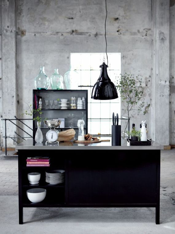 house doctor küche im industrial look For the Home Pinterest - küche vintage look