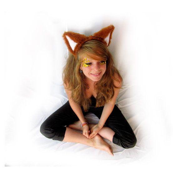как сделать уши лисы своими руками фото что необходимо