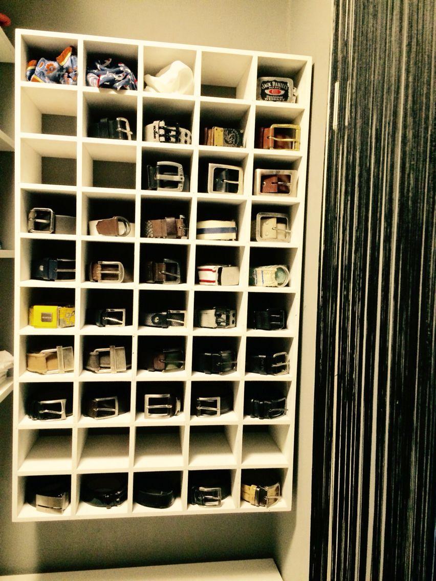 Gürtel Regal, Belt Storage, Ankleide, Wardrobe For Belt