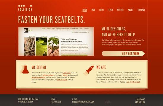 Genial 35 Creative Home Page Designs   Web Design Showcase
