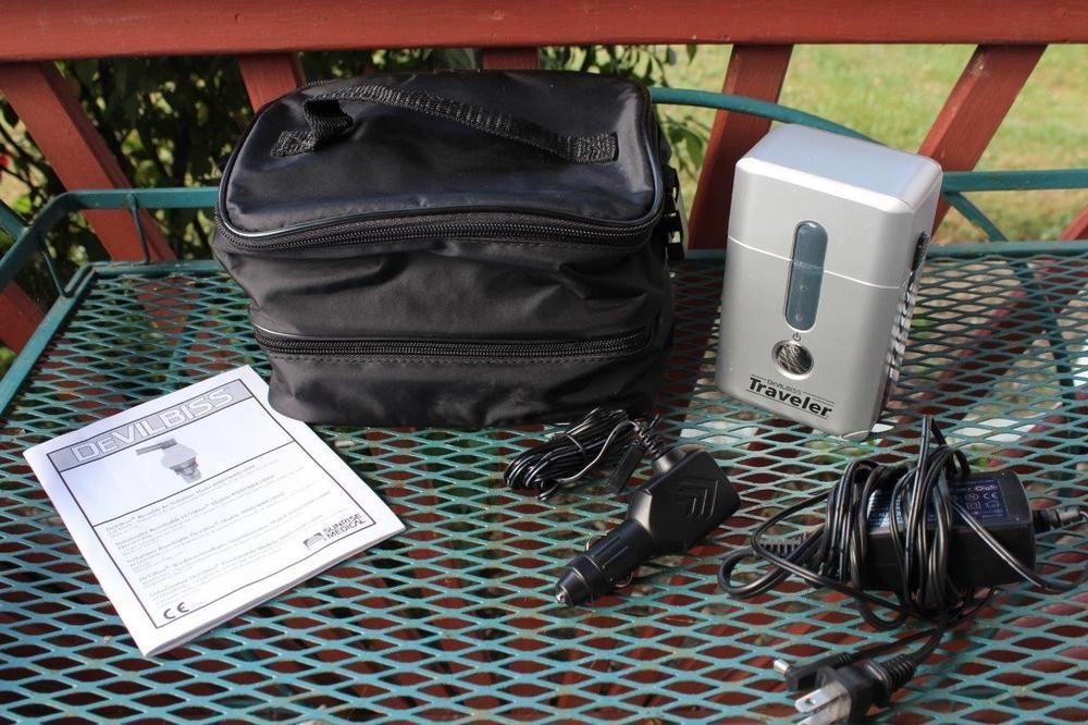 DeVilbiss Traveler Portable Nebulizer 6910 Compressor Car