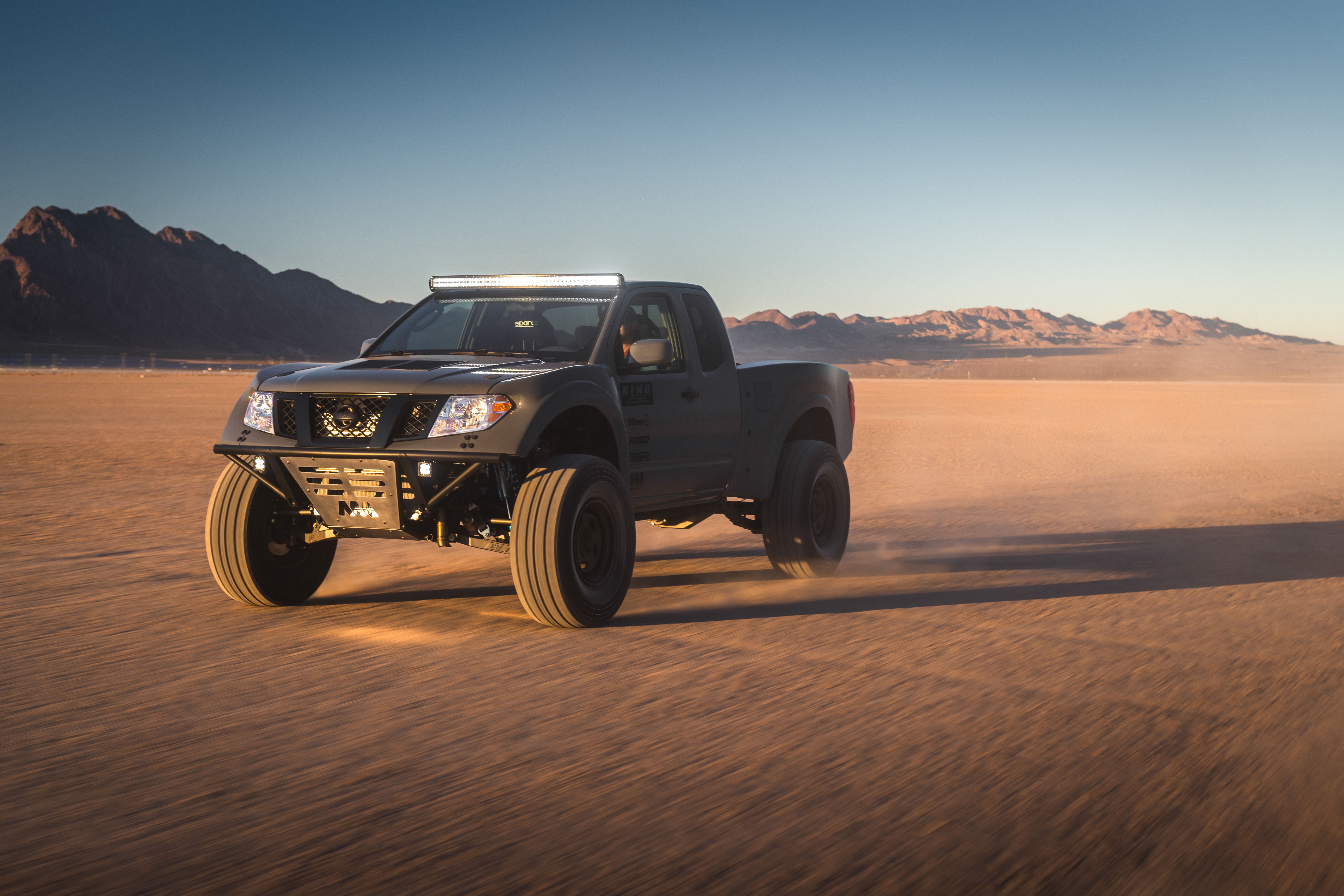Nissan Frontier Desert Runner Has A 600 Hp V 8 With A Manual Transmission Nissan Nissan Frontier Manual Transmission