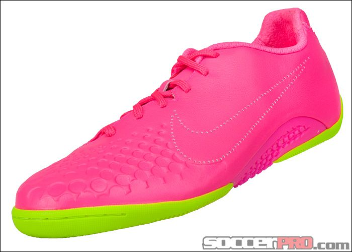 Nike5 Elastico Finale Indoor Soccer Shoes - Pink Flash with Volt ...