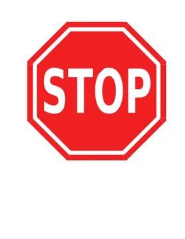 image regarding Printable Stop Sign referred to as Finish and Move indication for rest room Training Wall symptoms