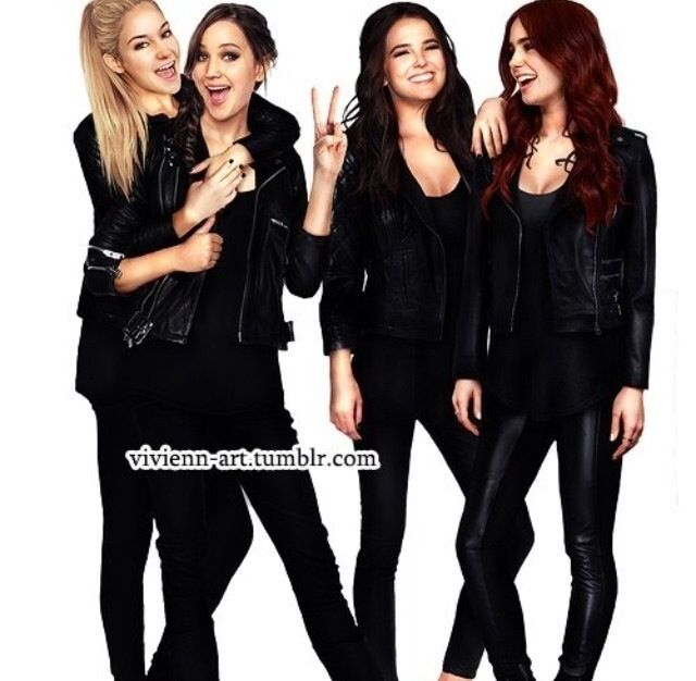 Tris, Katniss, Rose, and Clary