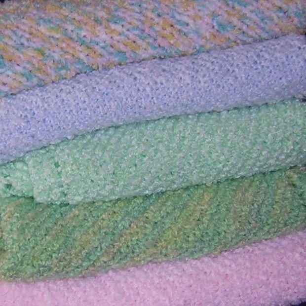 Knitting Baby Blankets | Knitting baby blankets, Easy knitting and ...