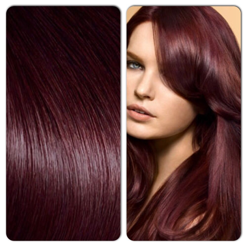 Dark Ruby Hair Color | Hairstyle Inspirations 2018