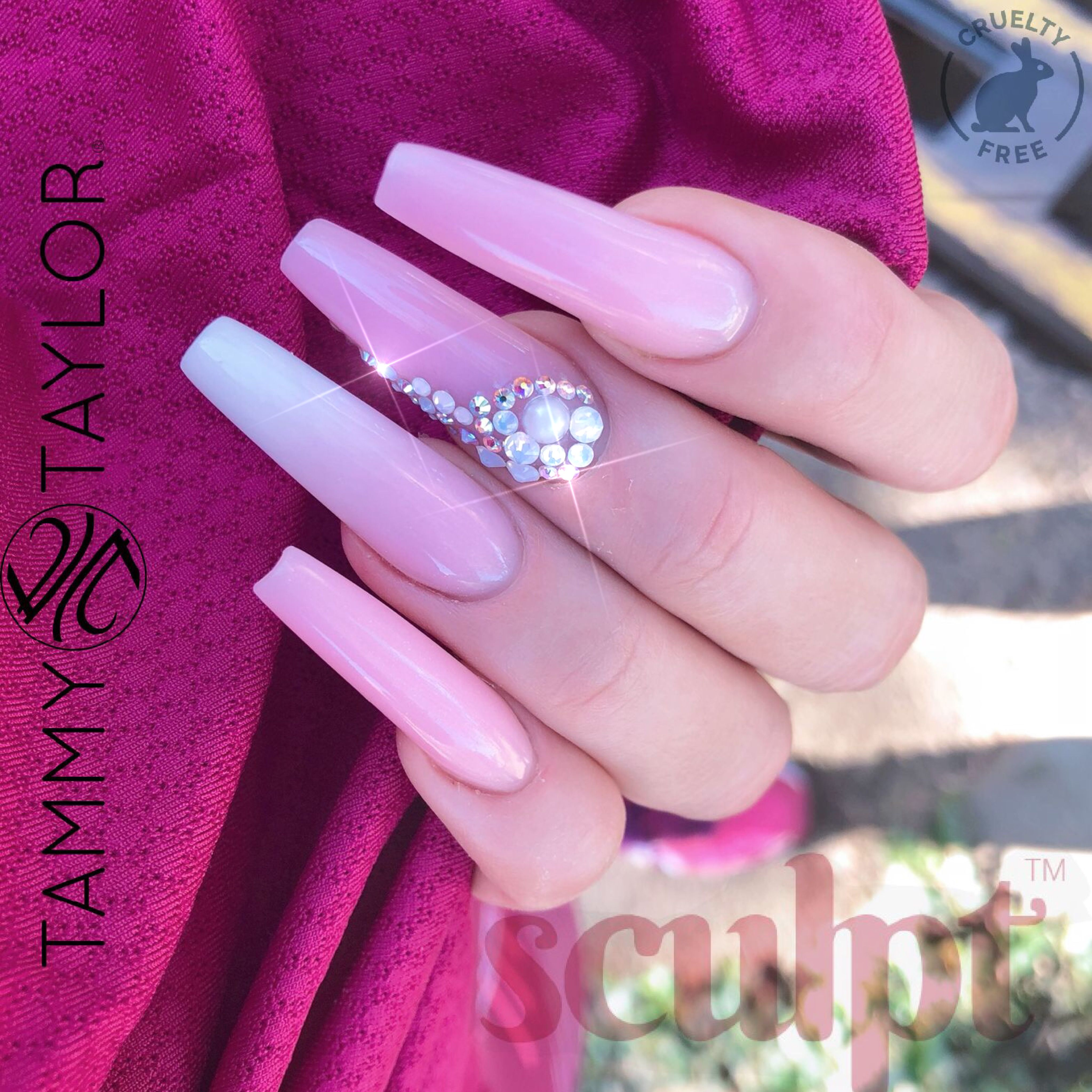 Tammy Taylor Nails South-Africa Sculpt - Acrylicgel hybrid in soft ...