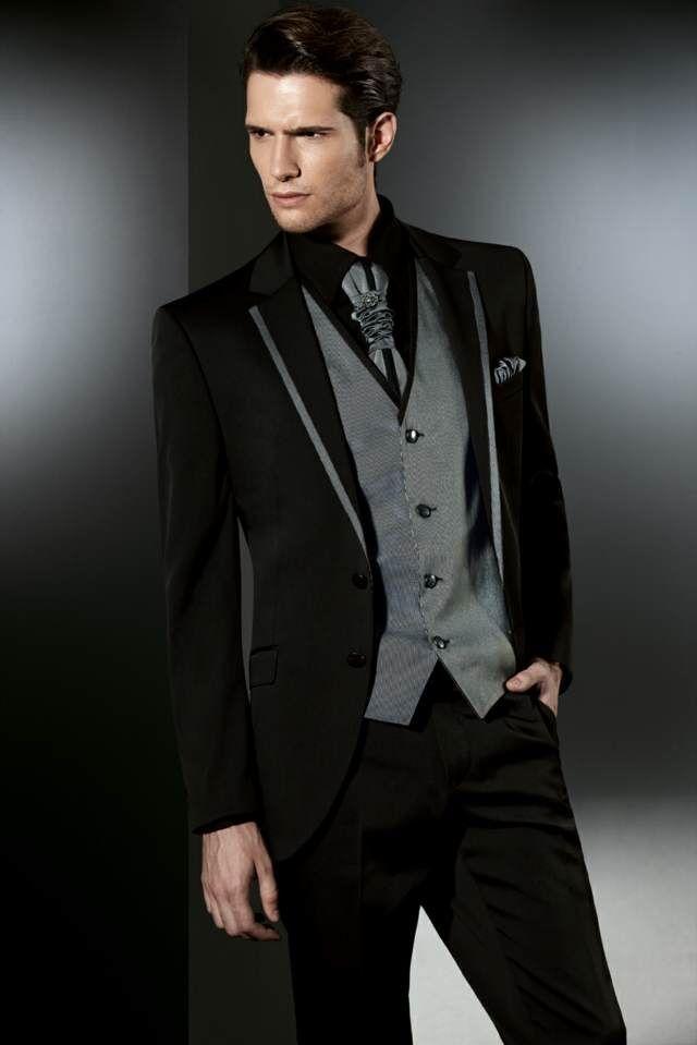 trajes de novio modernos ideas originales tendencias boda 2015 ... ce4b7884336a