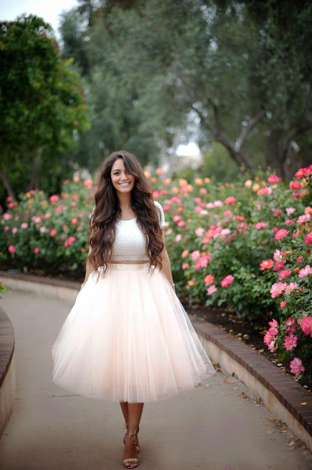 Vanessa balli year blogiversary tulle skirt pinterest
