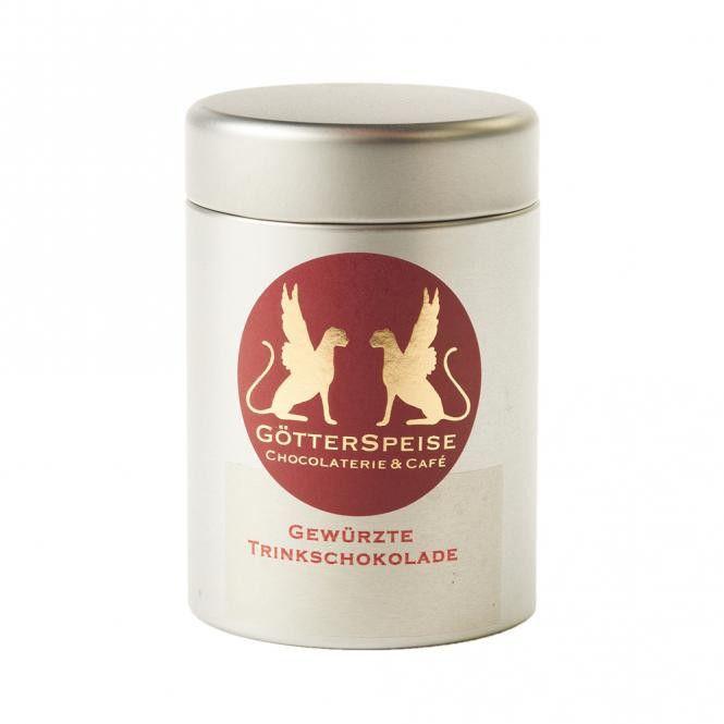 GötterSpeise Dickflüssige Trinkschokolade mit Gewürzen by GötterSpeise Chocolaterie & Café ·