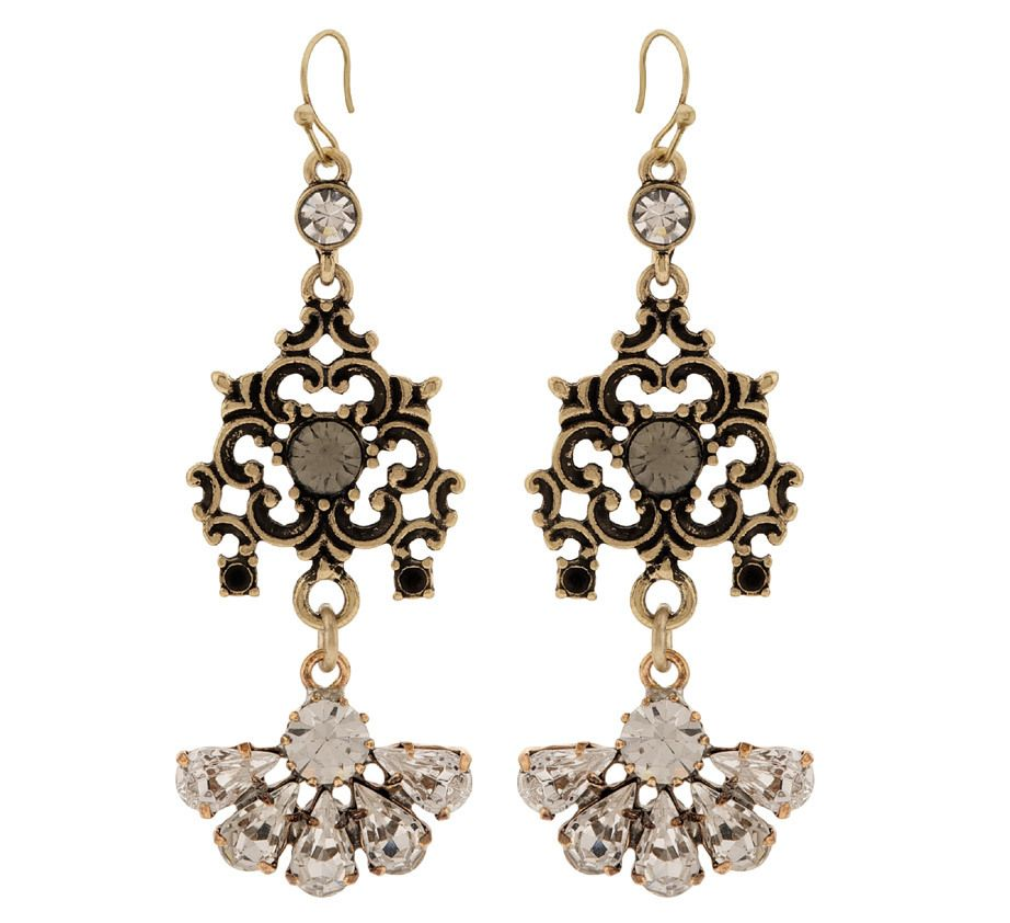 Martine Wester - STARGAZER LADYLIKE DROP EARRINGS, £24 (http://martinewester.com/products/stargazer-ladylike-drop-earrings.html)