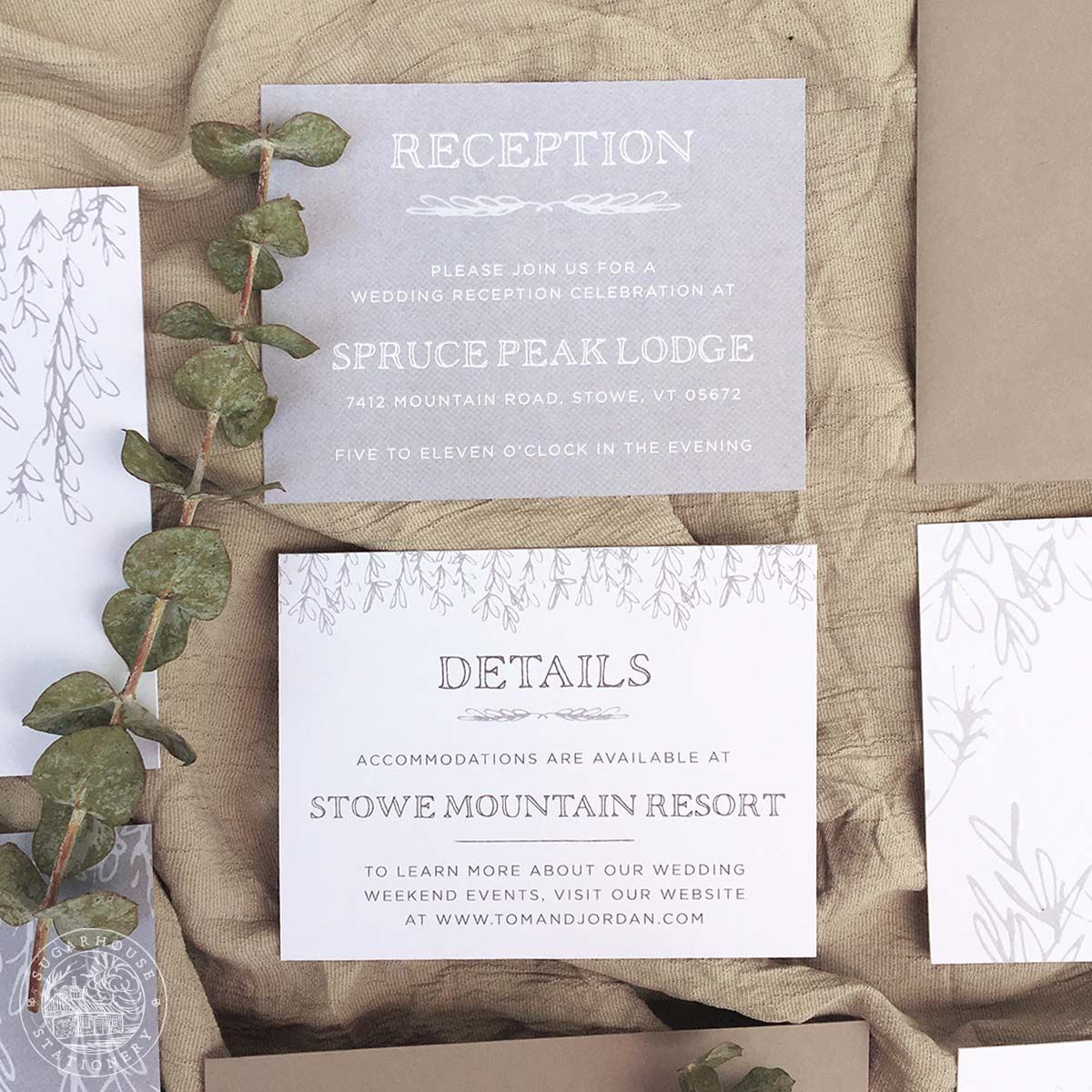 Mansfield grade a invitation suite stationery designs inspired wedding invitation design company specializing in invitation suites save the dates day of pieces and custom stationery design services stopboris Gallery