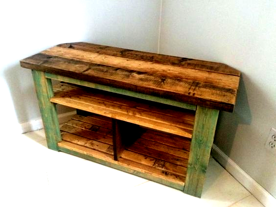 Pallet Wood Tv Stand Wood Pallet Tv Stand C80819 Napasars