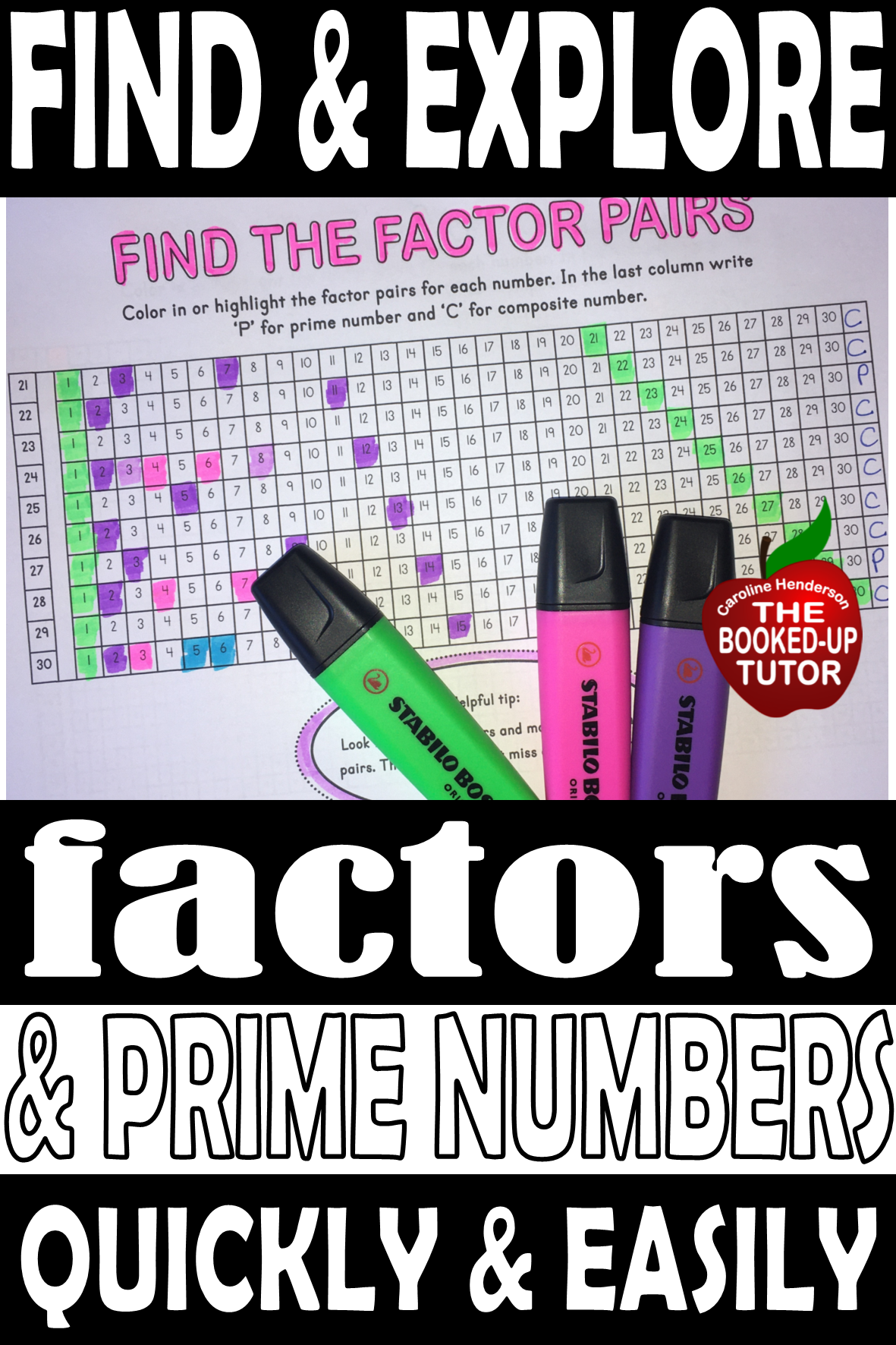 Finding Factors Supported Worksheets In
